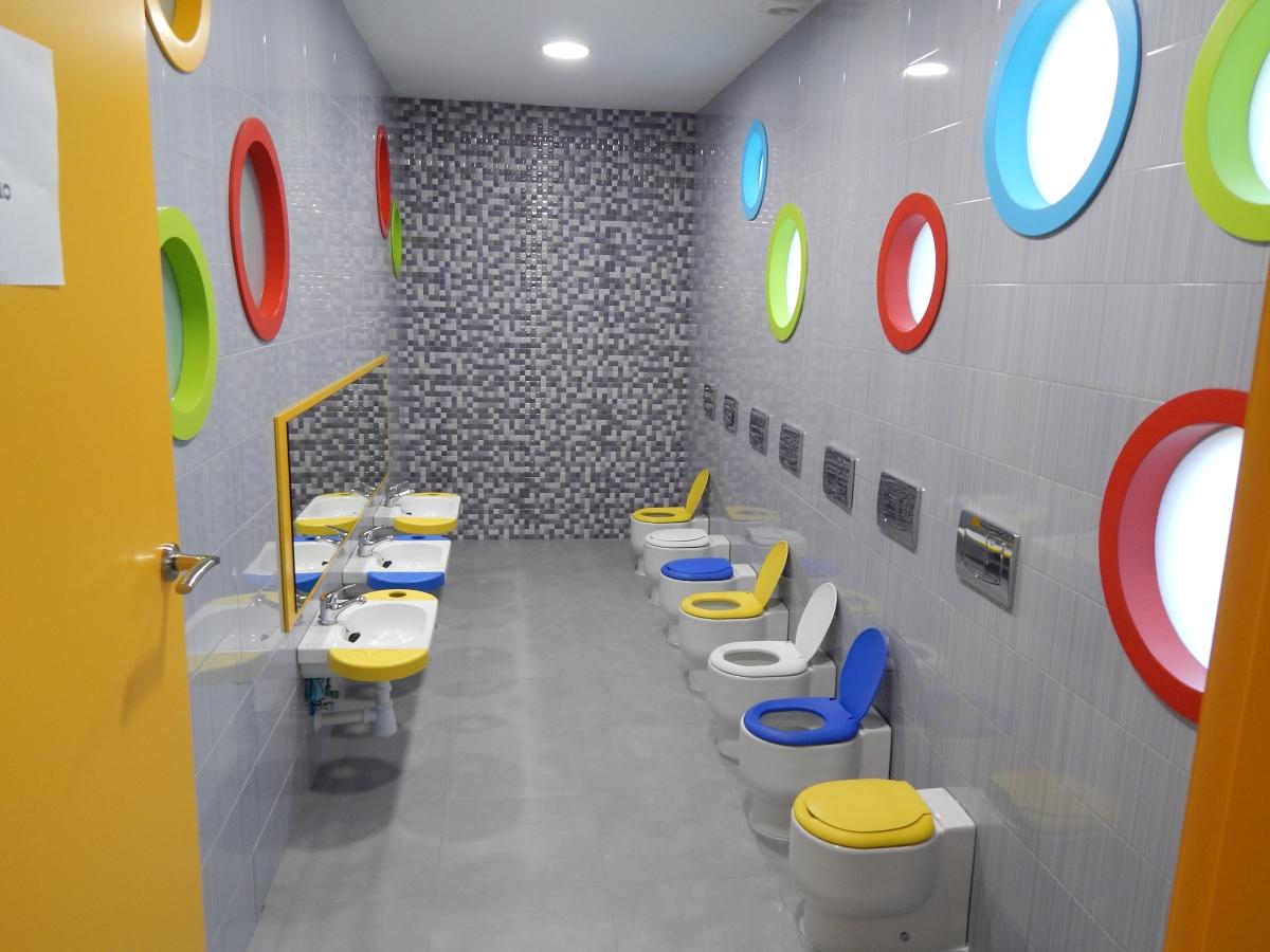 Baños Guarderias Infantiles:Baño 1 – Centro infantil Educo-Ocio Guarderías Cáceres
